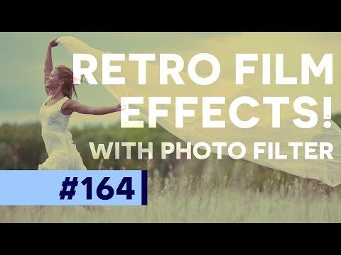 Retro Toning, VSCO Style, and Sepia images in Photoshop | Educational