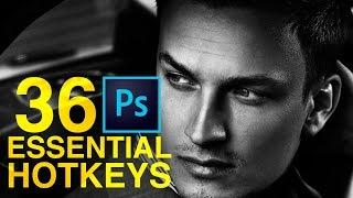 36 Essential Beginner Hotkeys for Photoshop CC | Educational