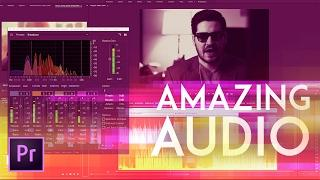 How to Get Amazing Audio in Premiere Pro 2017 (New Audio Effects) Advanced Multiband Compressor! | E
