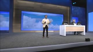 Joseph Sirosh presents the How Old Robot at the BUILD 2015 conference