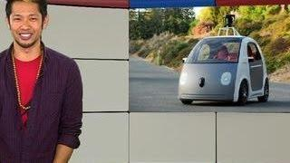 Googlicious - Google unveils their first self-driving car
