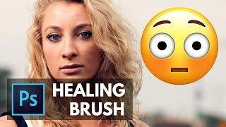 Learn the HEALING BRUSH in About 5 Minutes! Photoshop Tutorial  | Educational