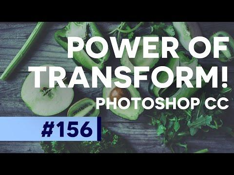 Photoshop Tutorial: Use Transform FASTER | Photoshop