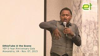 Meskerem Bekele at Young Ethiopian Professionals 5ith Year Dinner|  Stand Up Comedy