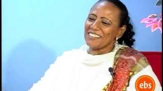 Enchewawot - EBS interview with artist Maritu Legesse