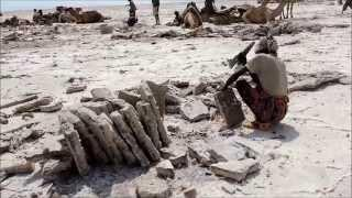 SALT  CARAVANS IN DANAKIL DEPRESSION -ETHIOPIA  | TRAVEL IN TIME -  HD