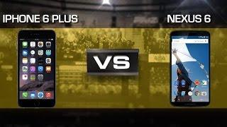 iPhone 6 Plus vs. Nexus 6 | CNET