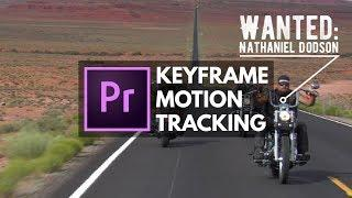 Auto & Manual Motion Tracking an Object with Premiere Pro | Educational