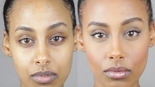 How To Apply Foundation | Before & After | NYX Face Awards 2014 Entry