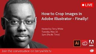 How to Crop Images in Adobe Illustrator - Finally! | Educational