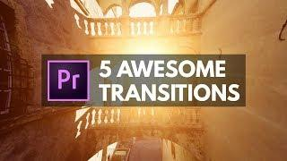 Make Better Videos w/ these AMAZING Premiere Pro Transitions | Educational