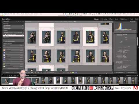 Introduction to Adobe Lightroom CC - Pt 2 - Collections vs Folders - lightRoom   Educational