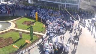 Ethiopian Epiphany Celebration in Addis Ababa 2014