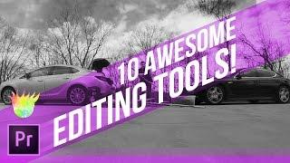 10 Awesome Editing Tools in Premiere Pro CC | Educational