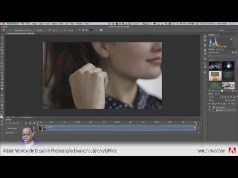 How to Edit Video in Adobe Photoshop CC  | Educational