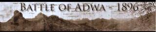 Battle of Adwa 1896
