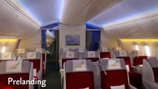 Ethiopian Airlines B787 cabin interior