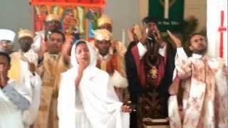 Zemarit Zerfe Kebede at Debre K.Abune Aregawi E.O.T.C.