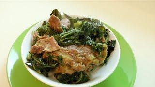 "Ethiopian Food ""How to Make Gomen Besiga"" የጎመን በስጋ አሰራር | Food"