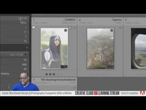 Introduction to Adobe Lightroom CC - Pt 6 - Lightroom for Mobile & Web | Educational