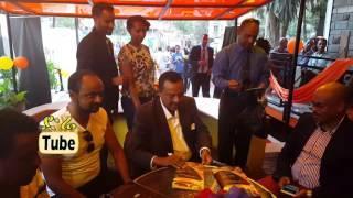 Ephrem Tamiru's   'Endegena'  AlbumSingning program  in Addis Ababa,Ethiopia