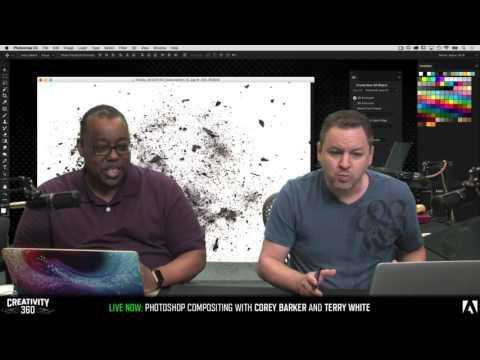 Creativity 360 Day 1 with Terry White & Corey Barker - Photoshop Compositing | Educational