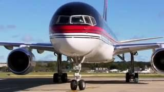 Donald Trump's Private Boeing 757 Plane - Documentary