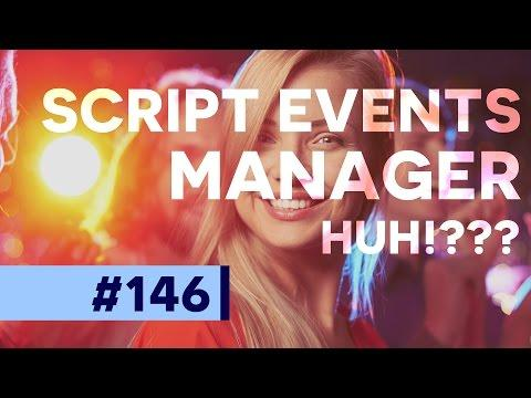 Woah! Have You Used the Script Events Manager? Photoshop CC  | Educational