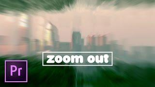 Zooming Out Effect IN DEPTH Premiere Pro Tutorial