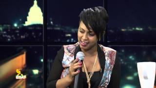 Interview with Abeba Desalegn -- Part 1 -  Dec 2014 | Tamagne Show