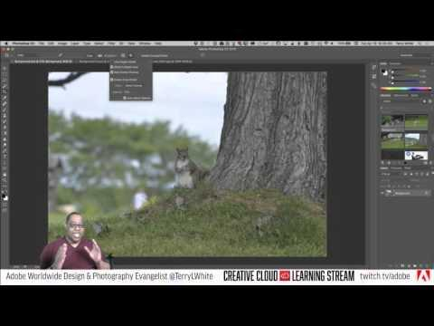 Introduction to Adobe Photoshop CC - Partt 9 - Cropping & Resizing Images   Educational