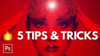 5 HOT Photoshop Tips & Tricks in Five Minutes   Educational