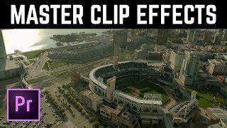 Global POWER of Master Clip Effect in Premiere Pro | Educational