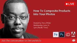 How to Composite Products into Your Photos with Adobe Photoshop CC   Educational