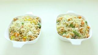 "Cooking : How to Make Rice with Ater, Bekolo, Fosoliya, Karot"" ሩዝ ከአተር፣በቆሎ፣ፎሶሊያና ካሮት ጋር አሰራር   Food"