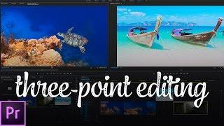 The FASTEST Way to Edit Video (Three-Point Editing) | Premiere Pro Tutorial
