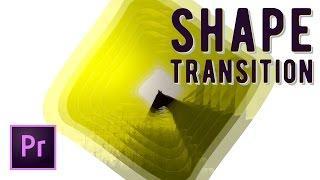 Dynamic Animated Shape Mask Transition Effect Premiere Pro Tutorial   Educational