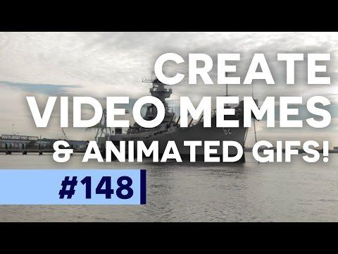 Animated GIF from Video in Photoshop CC  | Educational