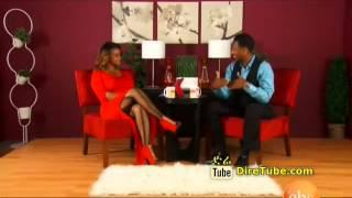 Interview with Comedian Meskerem Bekele--Enchewawet -EBS