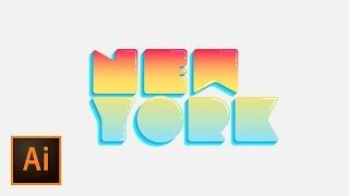 Create Bubble Text with Simple Illustration Techniques | EDUCATIONAL