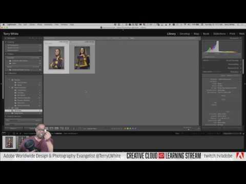 Introduction to Adobe Lightroom CC - Pt 3 - Tethered Shooting and More | eDUCATIONAL