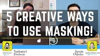 5 Creative Ways to Mask in Photoshop (Collaboration) | Educational
