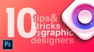 10 Photoshop Features Every Graphic Designer Should Know / Educational