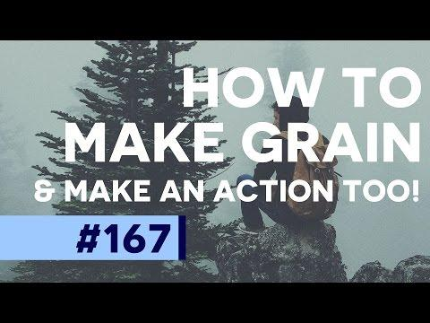 Create Multi-Layered Grain/Noise in Photoshop CC | Educational