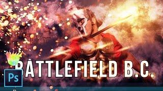 "Creating a ""Battlefield 1"" Style Poster & Text Effect in Photoshop CC"