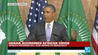 Watch US president Obama's full address to the African Union | Ethiopia
