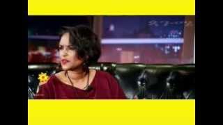 Tsedenya Gebremarkos On Seifu Fantahun Show 2014 | EBS