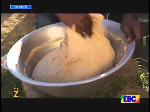 Artist Sileshi Demssie Making Difo Dabo | Gena Celebration