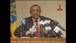 Press Conference Prime Minister Hailemariam Desalegn Oct 05 2013