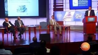 What's new Ethiopian diaspora business forum held in George Washington Dc university | EBS